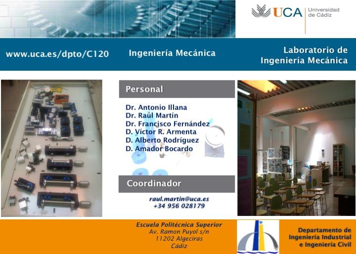 Laboratorio de Ingeniería Mecánica