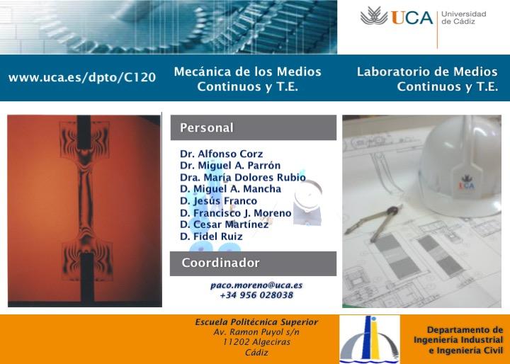Laboratorio de Medios Continuos y Teoría Estructuras