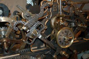 Mecanismo reloj del Departamento